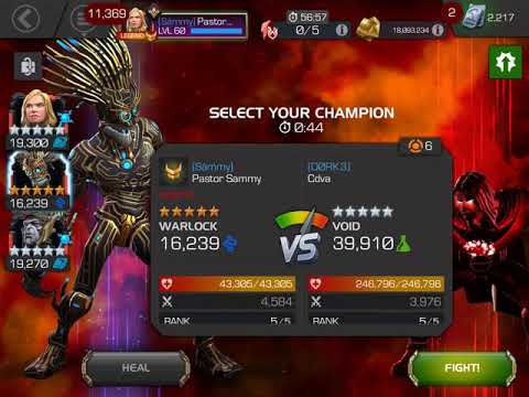 Såmmy vs Dork3 main boss warlock mvp as always MCOC