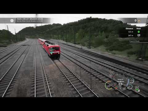 Train Sim World BR 143 Startup |