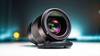 SAMYANG 35MM F1.4 AF | Sony Full Frame Budget Lens Review