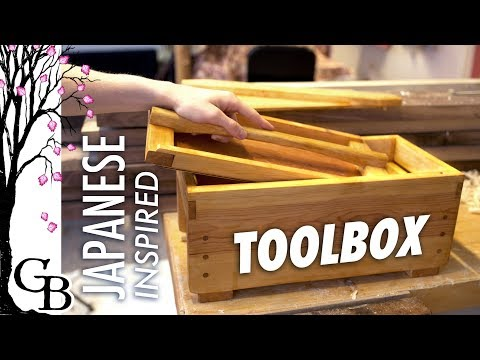 Toolbox with liftout tray