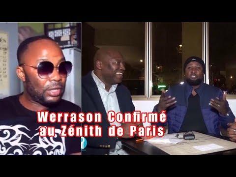 WERRASON: CONCERT YA ZÉNITH DE PARIS CONFIRMÉ LE 12/Janv/2019 +GOLF KIZOLA Répond CELEO & MARIE PAUL
