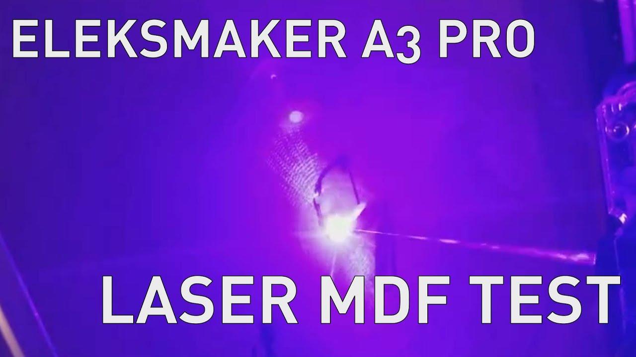 EleksMaker A3 Pro 2500mW Laser Engraver - IMHO Reviews