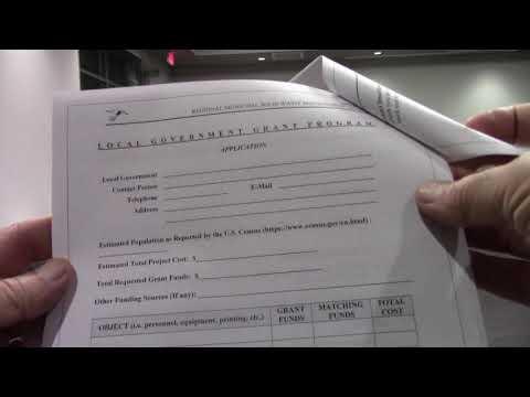 7. New application format for grinding reimbursement requests