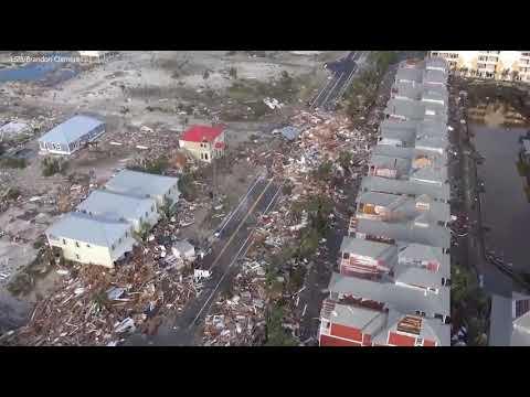 Storm Surge Mexico Beach Florida 11 Oct 2018
