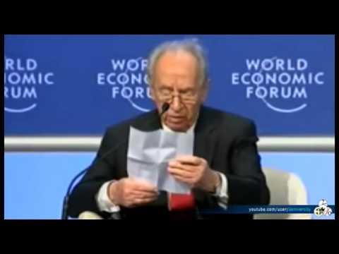 Shimon Peres responds Erdogan at Davos 2009