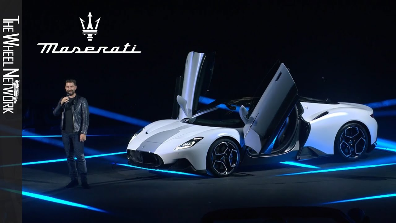 Maserati MC20 Reveal – Full Show