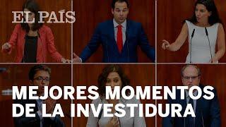INVESTIDURA de Isabel DÍAZ AYUSO: MEJORES MOMENTOS del DEBATE