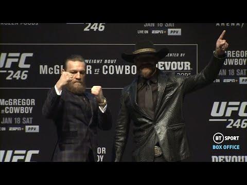Full UFC 246 McGregor V Cerrone Press Conference