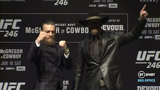 Full UFC 246 McGregor v Cerrone Press Conference