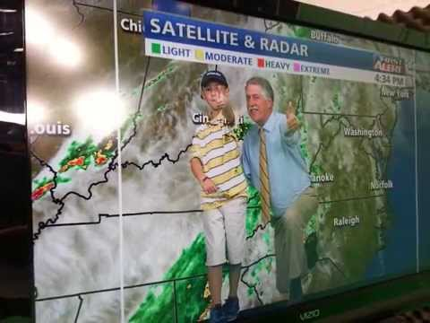 WDBJ7 Weather Center Surprise