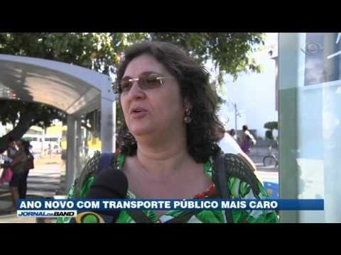 Cidades reajustam tarifa do transporte público