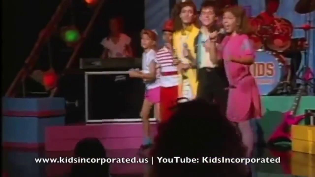 Kids Incorporated Performing Karma Chameleon W Renee Sands
