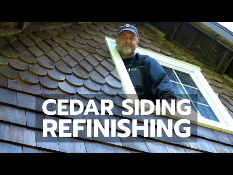 Cedar Siding Refinishing Here S How To Do It Right You