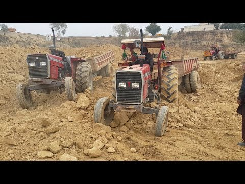 Massey tractors shandar power working in Punjab Pakistan