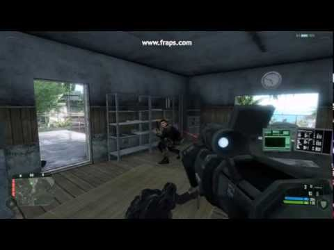 Crysis Funny Glitch - The Unbeatable Enemy