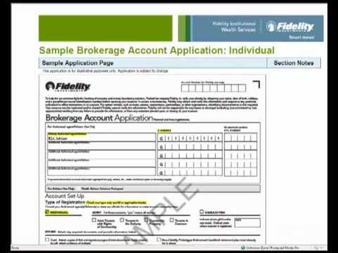 Open Fidelity Account Youtube