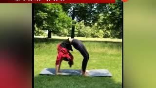 कंगना राणावतचा योगासनाचा व्हिडीओ व्हायरल