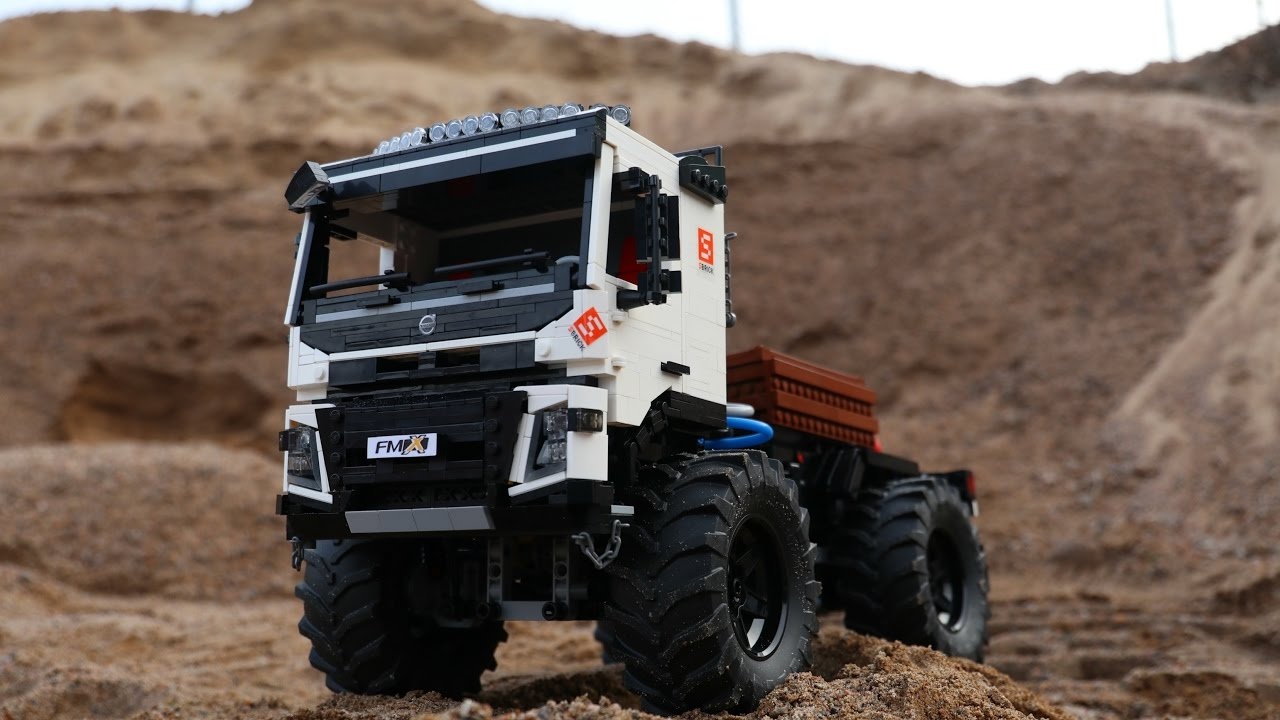 lego technic volvo fmx crawler edition 4th generation. Black Bedroom Furniture Sets. Home Design Ideas