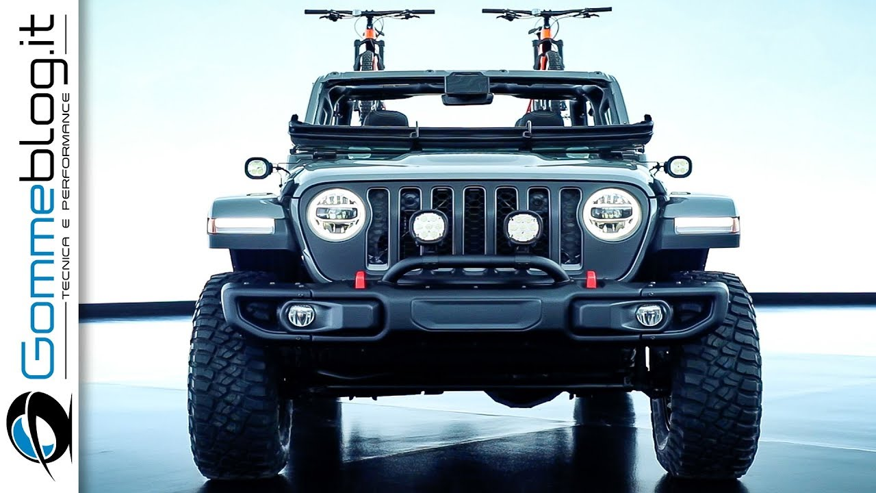 2020 JEEP GLADIATOR | TUNING by Mopar - YouTube