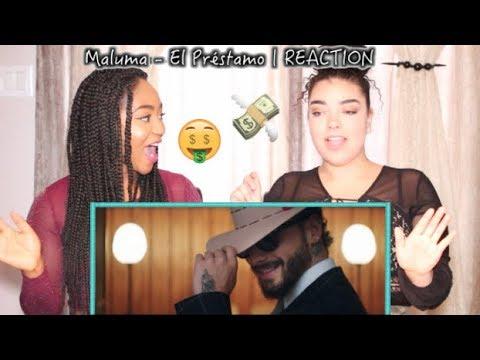 Maluma - El Préstamo (Official Video) | REACTION