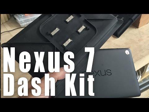 Nexus 7 FLOAT MOUNT Car Dash Kit from SoundmanCA.com