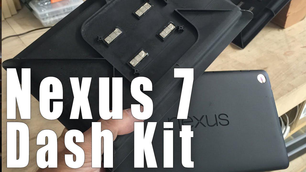 Nexus 7 Float Mount Car Dash Kit From Soundmanca Com Youtube