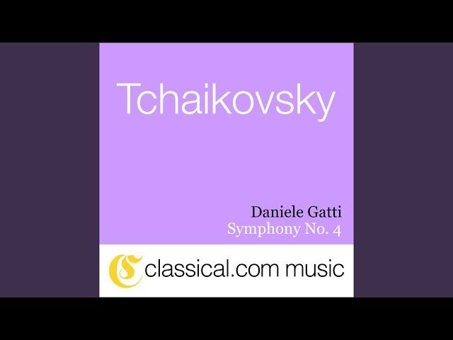 Symphony No. 4 in F minor, Op. 36 - Andante sostenuto - Moderato con anima