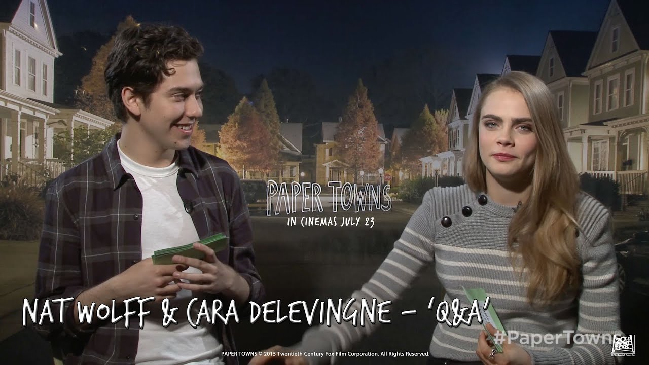 Paper Towns [Nat Wolff & Cara Delevingne - 'Q&A' Featurette in HD ...