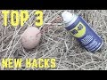 TOP 3 Simple Life Hacks With WD40 You Should Know!