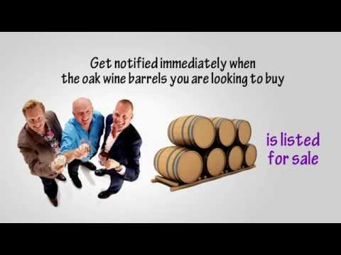 Wine Barrels For Sale | New & Used Oak Barrels | WineryAds