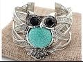 Native Owl Totem Cuff