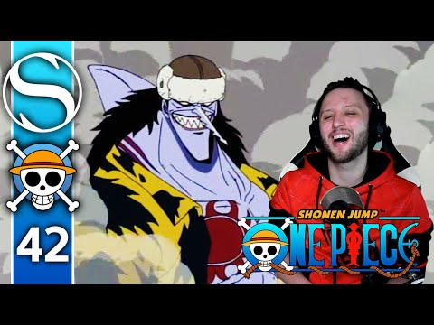 Explosion! Fish-Man Arlong's Fierce Assault From The Sea! - One Piece Episode 42 Reaction