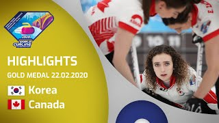 HIGHLIGHTS: Korea v Canada - Women's gold medal ga...