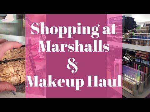 Marshalls High End Makeup Haul | Shopping Trip Vlog