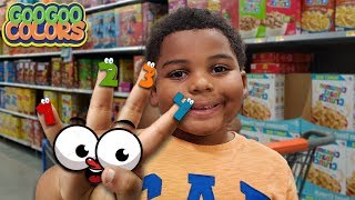 Goo Goo Gaga Goes Grocery Shopping for Mom! (Learn to Count)
