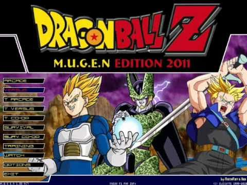 Dragon Ball z Mugen Edition 2011 Dragon Ball z Mugen Edition