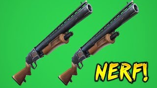 DOUBLE PUMP NERF FORTNITE PATCH V.3.0.0! PUMP SHOTGUN NERF FORTNITE PATCH NOTES V.3.0.0!