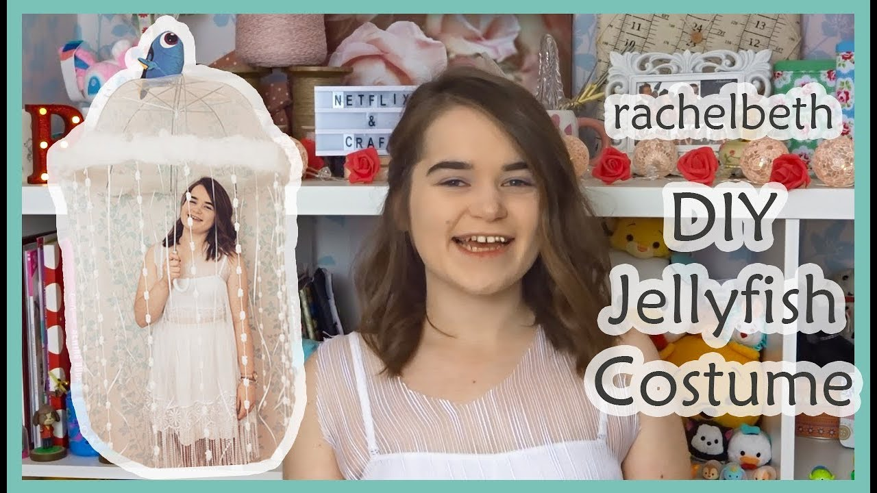 Diy jellyfish costume youtube diy jellyfish costume solutioingenieria Choice Image