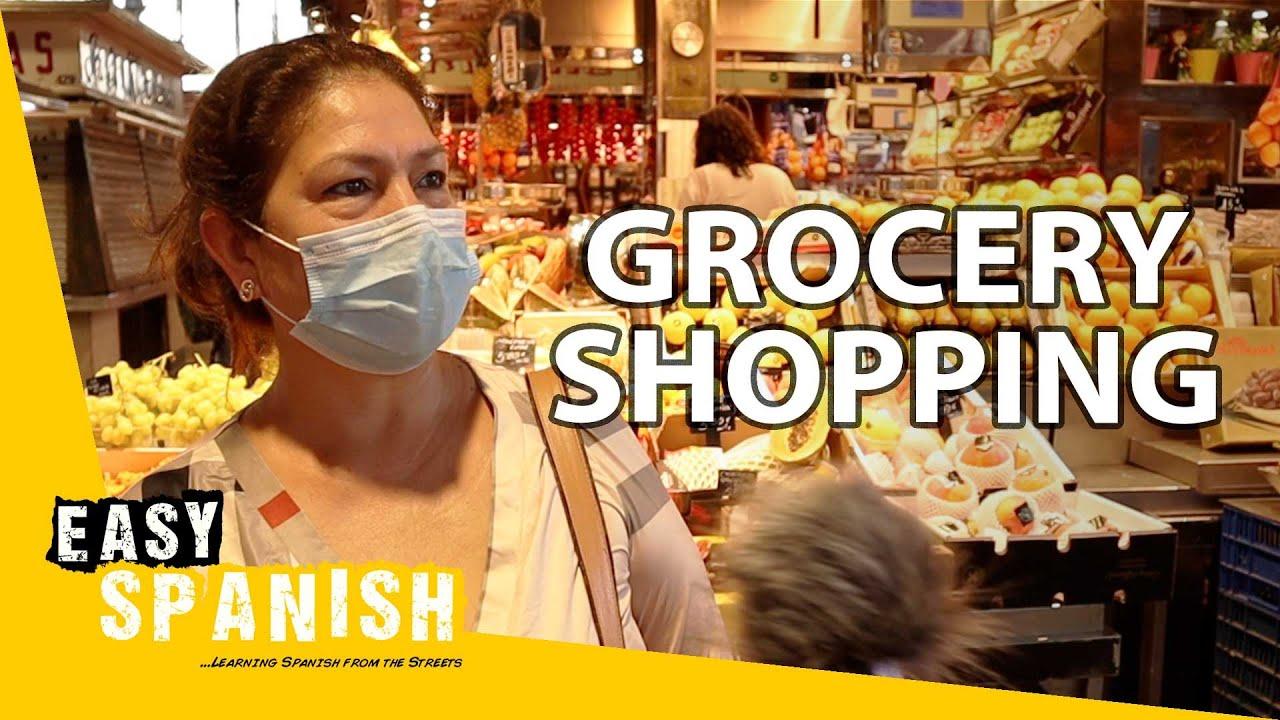 Do People in Barcelona Prefer Markets or Supermarkets? | Easy Spanish 212