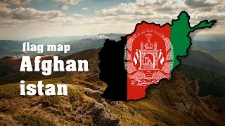 FLAG MAP SPEEDART #5 - Afghanistan