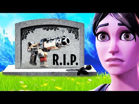 RIP Tactical SMG in Fortnite… | Chaos