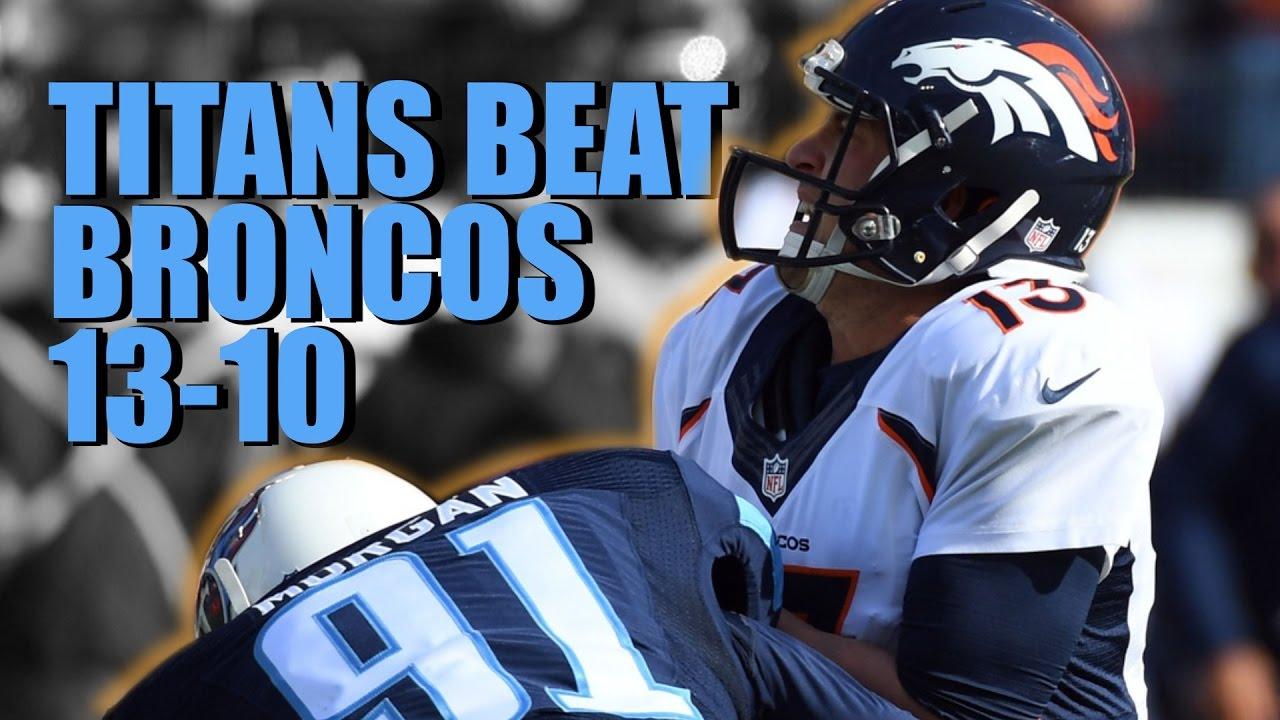3db32e55 Titans Beat Broncos 13-10 Week 14 NFL