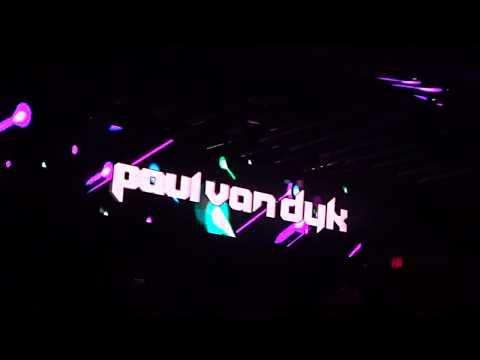 Paul van Dyk - Lights (Giuseppe Ottaviani Remix) -Live -Academy LA - Los Angeles CA - April 28, 2018
