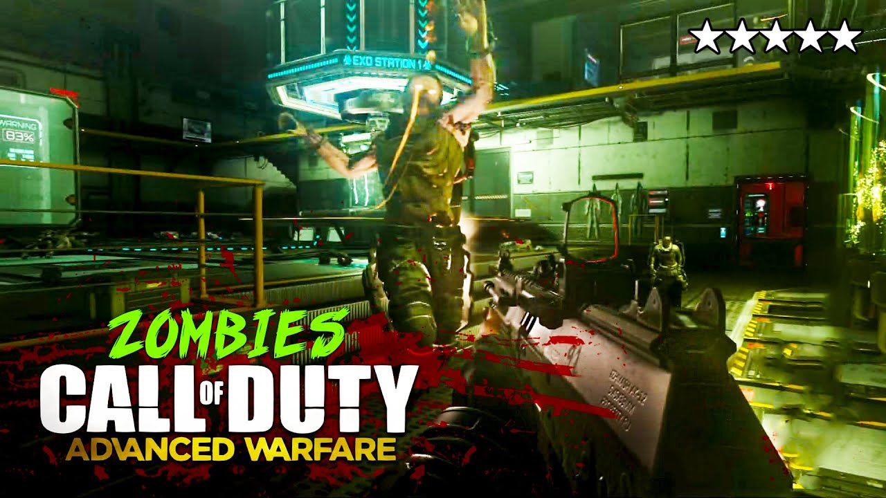 Call Of Duty Advanced Warfare Zombies Round 30 Easter Egg Gameplay Cod Exo Zombies Gameplay Youtube