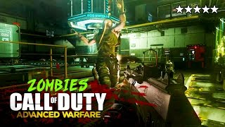 Call of Duty: Advanced Warfare Zombies ROUND 30 + EASTER EGG GAMEPLAY! (COD Exo Zombies Gameplay)
