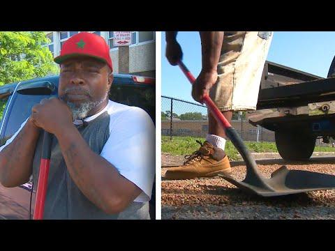 St. Louis Man Fills City's Potholes