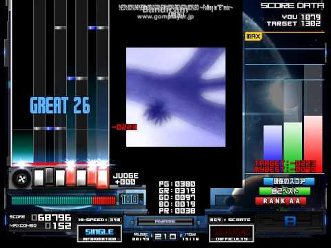"""【BMS】★11 %E3%83%96%E3%83%B3%E3%82%BF%E3%83%B3 ~Falling in """"B"""" mix~ (樹海) EASY CLEAR"""