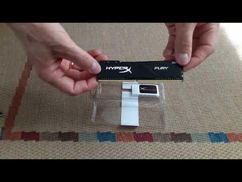 Оперативна пам'ять HyperX DDR4-2666 8192MB PC4-21300 Fury Black (HX426C16FB3/8)