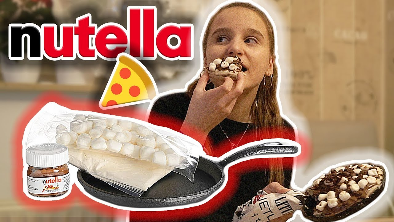 Nutella Pizza Kuche Fast Verbrannt Celina Youtube
