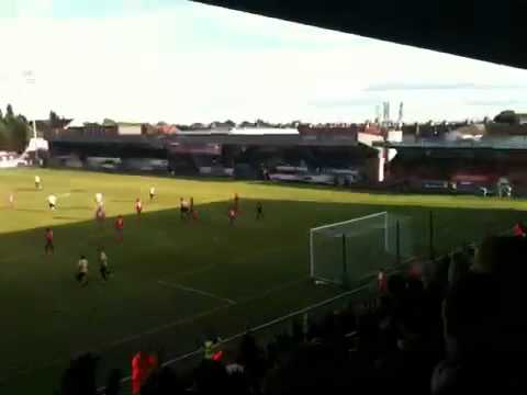 Nahki Wells Penalty - Bradford City V Dagenham